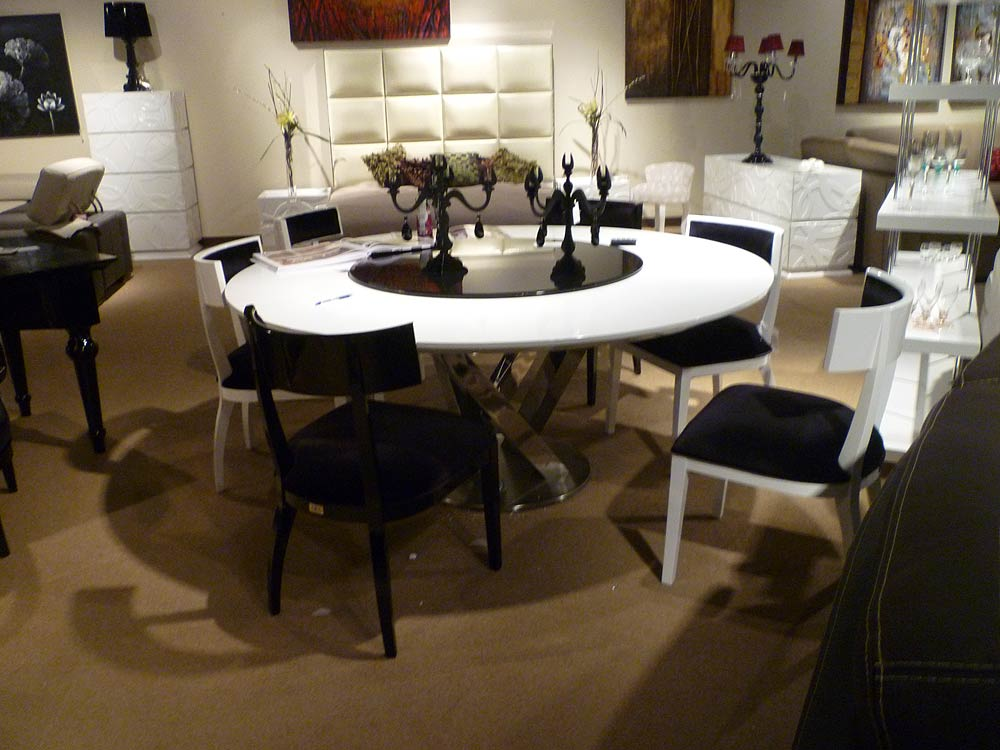 Wonderful Contemporary Round Dining Table For 6 Other Modern Round Dining Room Tables Modern Round Dining Room