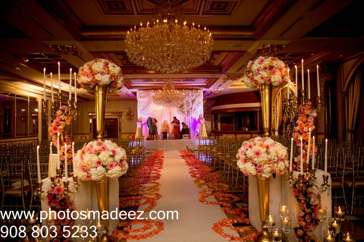 Wonderful Design House Decor Wedding Reception Decor At The Venetian Nj Indian Wedding