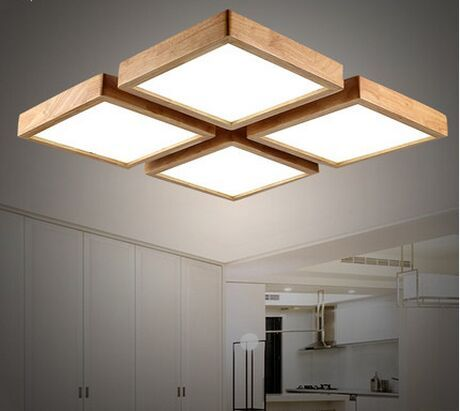 Wonderful Fancy Led Ceiling Lights Great Japanese Ceiling Light Modern Brief Wooden Led Ceiling Light