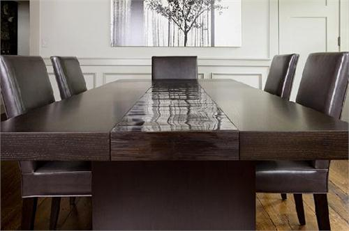 Wonderful High End Dining Room Tables High End Bamboo Dining Table Custom Made Furniture From Aguirre