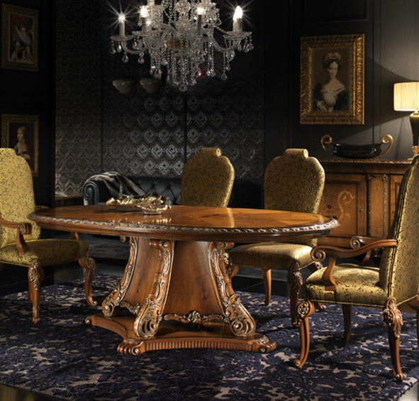 Wonderful High End Tables And Chairs End Dining Room Table Italian Furniture Regarding High End Dining