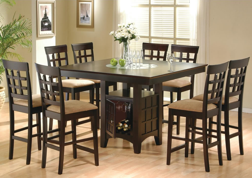Wonderful High Top Dining Room Chairs High Top Dining Table For New Look Of Kitchen Rs Floral Design
