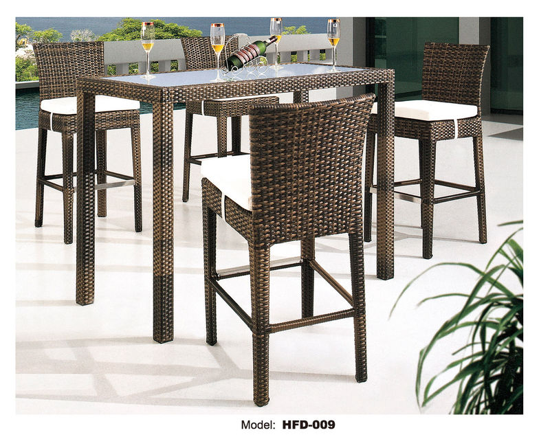 Wonderful High Top Wicker Patio Set Wonderful High Top Outdoor Furniture High Top Patio Furniture