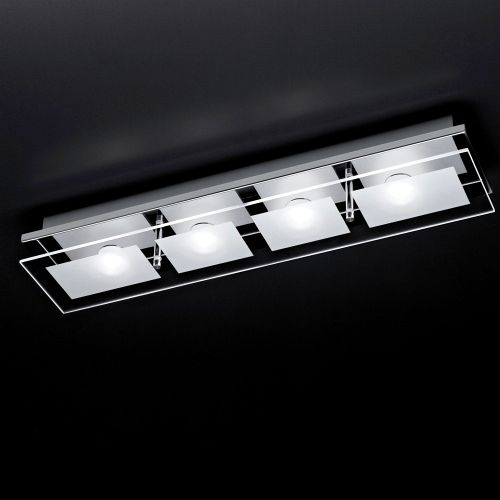 Wonderful Led Ceiling Lights Chiron Led Chrome Ceiling Light 6055 17 The Lighting Superstore