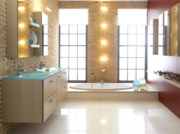 Wonderful Luxury Bathroom Lighting Astounding Luxury Bathroom Lighting That Will Delight You