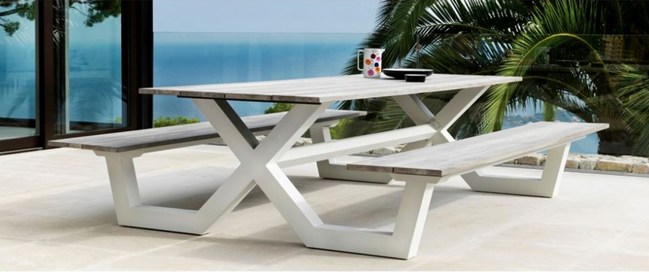 Wonderful Modern Metal Outdoor Furniture Metal Outdoor Furniture