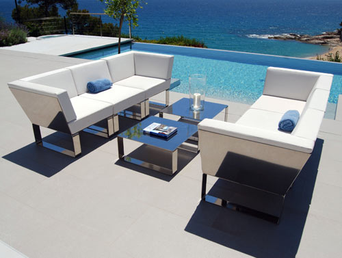 Wonderful Modern Metal Patio Furniture Outdoor Patio Furniture Nautico Ubica