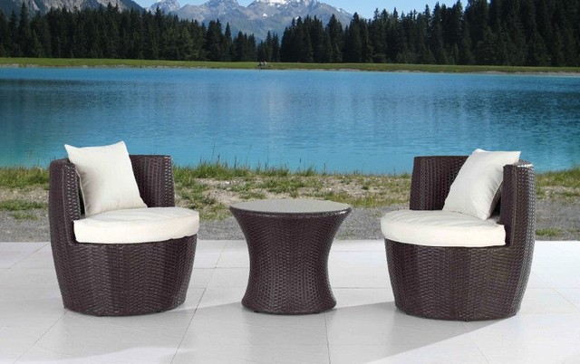 Wonderful Modern Metal Patio Furniture Small Outdoor Patio Furniture