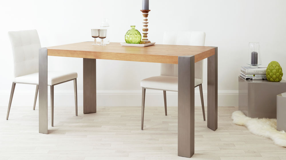 Wonderful Modern Oak Dining Table Contemporary Oak Dining Table Modern Home Design