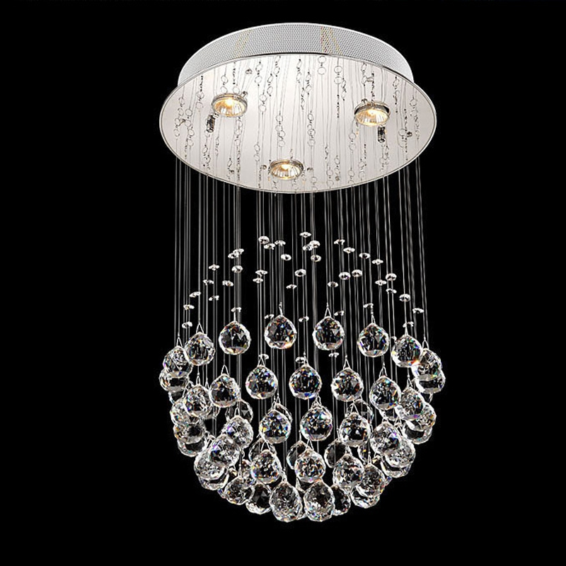 Wonderful Round Hanging Chandelier Luxury Round Crystal Ball Hanging Pendant Chandelier Chic Modern