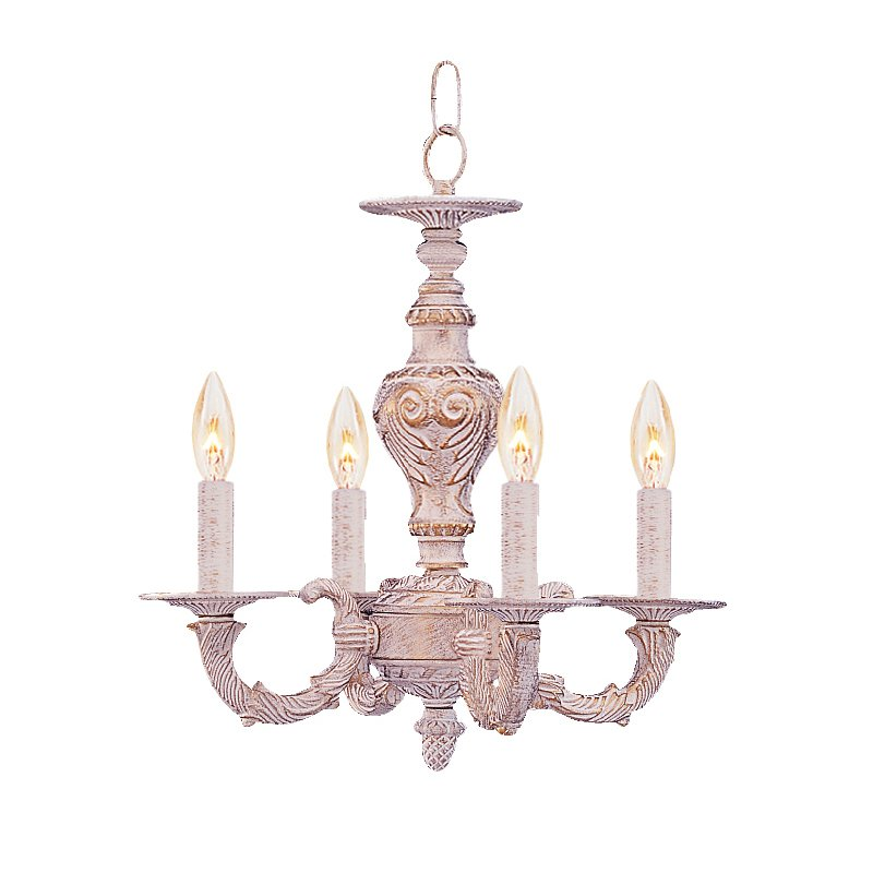 Wonderful Shabby Chic Chandelier Mini White Shab Chic Chandelier
